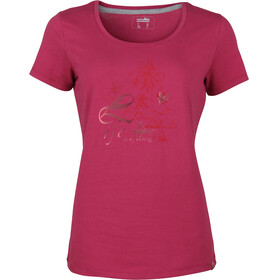 High Colorado Garda 4 T-Shirt Damen beaujolais